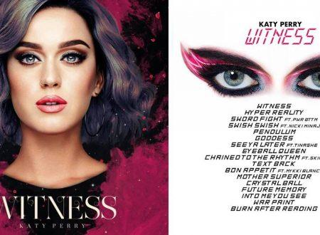 متن و ترجمه ترانه های آلبوم Witness کیتی پری