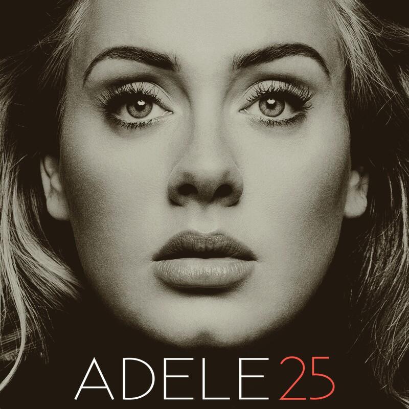 جلد آلبوم 25 آدل