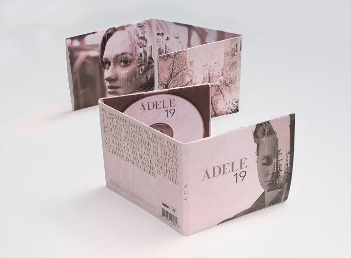 جلد آلبوم 19 آدل